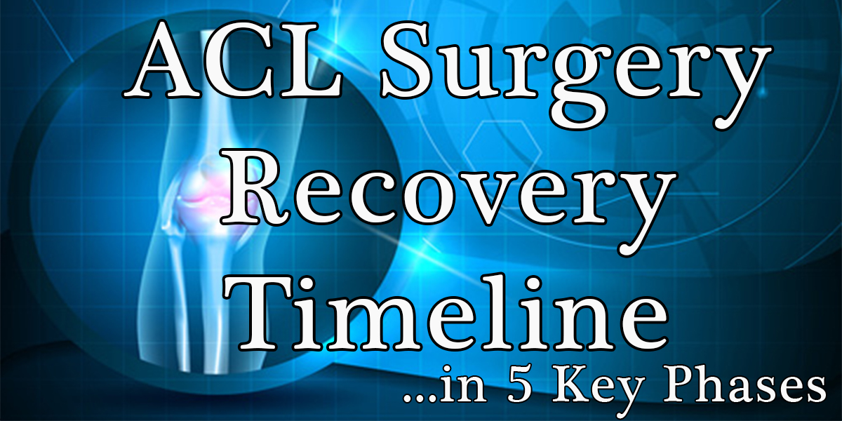 ACL Surgery Recovery-Timeline
