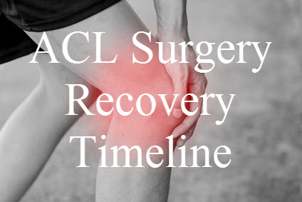 ACL Surgery Recovery Timeline