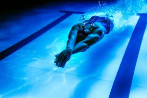 Lap swimming after ACL surgery
